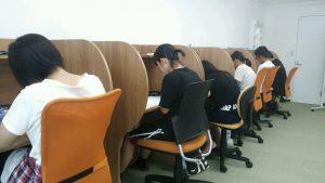 自主勉強室完備